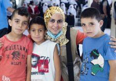 Karine foi ao Oriente Médio para missão humanitária em países em conflito