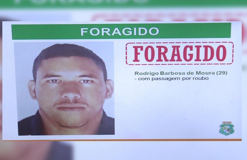 Polícia divulga foto do homem que seria o mentor do assalto que matou estagiária do MP