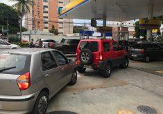 Filas gasolinas