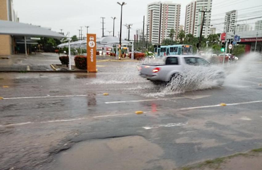 Fortaleza registra a maior chuva do ano nas últimas 24 horas