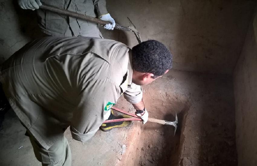 Polícia encontra ossos de vítimas que podem ter sido mortas por pai de santo
