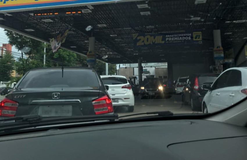 Mais de 100 postos de combustível já foram reabastecidos na Grande Fortaleza