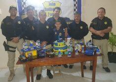 Aniversário tema policia em referência a Menino ganha festa de aniversário com tema da PRF em Croatá