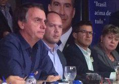 Bolsonaro também concedeu coletiva de imprensa. (Foto: Tribuna BandNews FM)