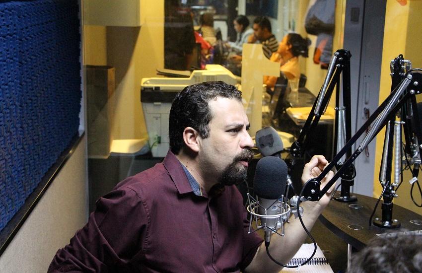"""Boulos diz que objetivo da eleição é enfrentar retrocessos e """"gente igual a Bolsonaro"""""""