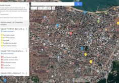 Mapa Calçadas