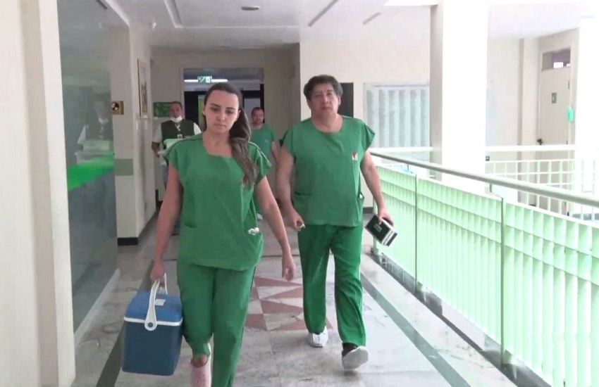 Paciente no Ceará recebe coração transplantado de jovem do Rio Grande do Norte