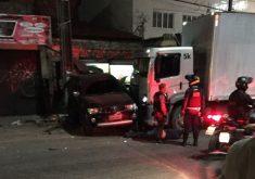 Acidente com caminhão desgovernado