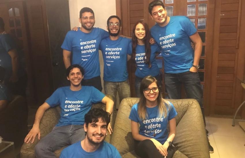Cearenses criam aplicativo que conecta prestadores de serviços e clientes em Fortaleza