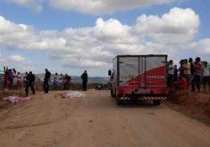 Chacina em Quiterianópolis fez quatro vítimas. (Foto: Blog do Amaury Alencar)