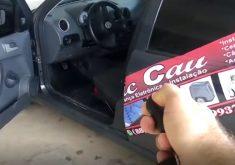 Chave de carro em referência a Estudante cearense cria sistema de monitoramento remoto de carros; o aplicativo permite ligar o veículo a distância