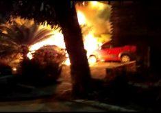 Incêndio de carros