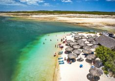 Jericoacoara está no topo do ranking do turismo no Ceará. (Foto: Secretaria do Turismo do Estado)