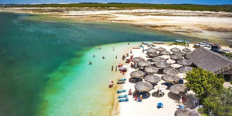 Jericoacoara está no topo do ranking do turismo no Ceará. (Foto: Secretaria do Turismo do Estado)