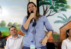 Lia Ferreira Gomes será candidata à Assembleia Legislativa. (Foto: Reprodução)