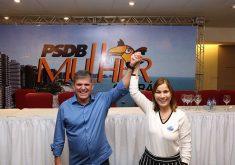 Mayra Pinheiro fará campanha ao lado de General Theóphilo. (Foto: Divulgação)
