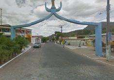 O município de Palmácia onde aconteceu a chacina fica a 72 km de Fortaleza (Foto: Google Street)