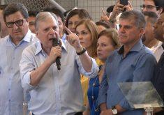 Tasso aposta em General Theóphilo como candidato da oposição. (Foto: Reprodução/TV Jangadeiro)