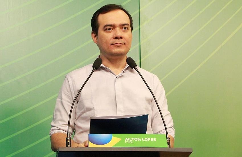 """""""Camilo não veio porque não pode explicar a aliança que fez com Eunício"""", critica Ailton Lopes"""