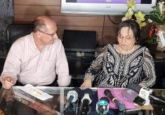 Alckmin assinou documento em que se compromete com propostas. (Foto: Dorian Girão / TV Jangadeiro)