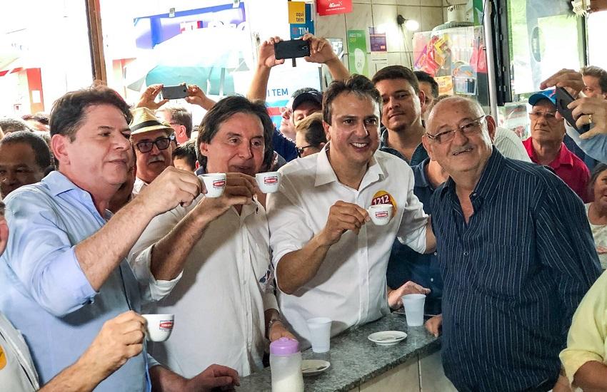 Camilo, Ciro, Cid e Eunício lideram intenções de voto no Ceará na primeira pesquisa Ibope