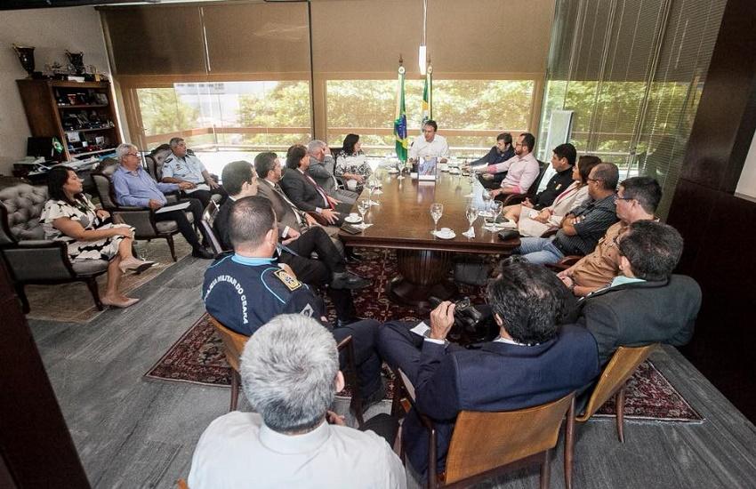 Camilo avalia pedido do TRE sobre presença de tropas federais nas eleições