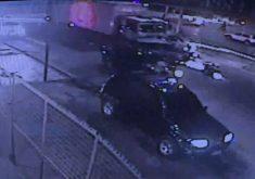 Caminhão em referência a Motorista de caminhão que provocou grave acidente na Av. Osório de Paiva é preso