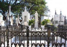 O cemitério são joão batista é o mais antigo da cidade, inaugurado no século XIX (Foto: Rosana Romão/Tribuna do Ceará)