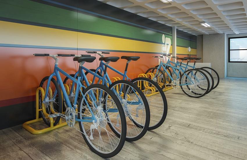 Condomínio de Fortaleza lança sua própria estação de bicicletas compartilhadas