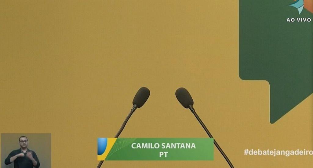Editorial do Sistema Jangadeiro sobre a ausência de Camilo Santana no debate dos candidatos ao Governo