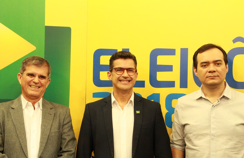 Primeiro debate no Ceará é marcado por ausência de Camilo e ataques de Ailton Lopes a adversários