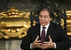 Eunício Oliveira tem a maior fortuna entre os candidatos: R$ 89 milhões. (Foto: Agência Senado)
