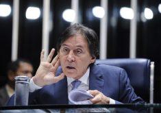 Eunício Oliveira é suspeito de fraude eleitoral. (Foto: Edilson Rodrigues/Agência Senado)