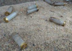 Capsulas de arma em referência a Fisiculturista é morto na frente da mãe na zona rural de Quixadá