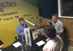Entrevista no Focus.Jangadeiro. (Foto: Thales Dídimo/Tribuna do Ceará)