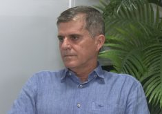 General Theóphilo é candidato pelo PSDB. (Foto: Reprodução/TV Jangadeiro)