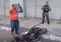 moto quebrada