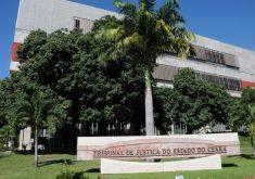 Fachada Tribunal de Justiça do Ceará em referência a Motorista do Tribunal de Justiça do Ceará se aposenta com salário de R$ 25 mil