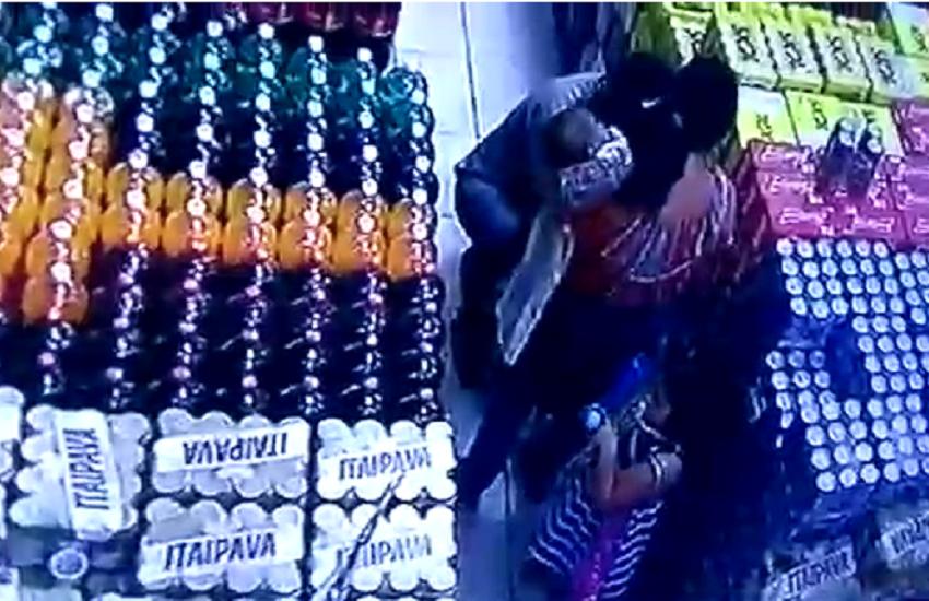 Casal acompanhado de crianças furta supermercado em Fortaleza