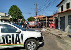 Crime aconteceu na Vila Manuel Sátiro (FOTO: Reprodução WhatsApp)