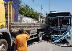 Acidente deixou uma vítima fatal (Foto: Dorian Girão)