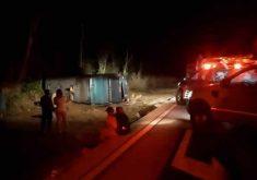 Acidente com romeiros aconteceu na noite da sexta-feira. (Foto: Reprodução/Site Miséria)