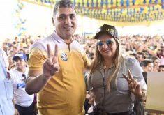 Antônio Claudio e Dona Bill foram eleitos em 2016. (Foto: Reprodução/Facebook)
