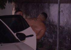 Homem foi preso e encaminhado ao 12º DP (FOTO: Reprodução/TV Jangadeiro)