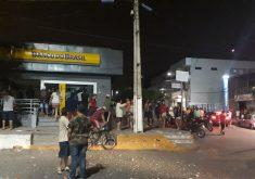 Banco do Brasil destruído