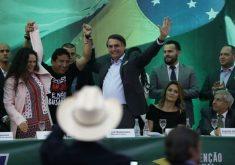 Bolsonaro mantém liderança, com 28% dos votos (FOTO: Fernando Frazão/Agência Brasil)