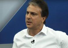 Candidato à reeleição, Camilo Santana foi principal alvo do debate. (Foto: Reprodução)