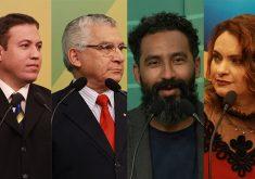 Candidatos em referência a Candidatos tiveram tempo no debate até 100 vezes maior do que em propaganda eleitoral