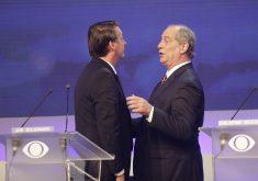 Bolsonaro está na liderança. Ciro aparece em 2°, mas empatado na margem de erro com outros candidatos. (Foto: Kelly Fuzaro/Band)
