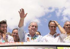 Ciro expõe apoio de Haddad a Eunício e credibiliza apoio de Camilo a sua campanha. (Foto: Divulgação)